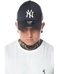 KTZ - New York Yankees Heather 39thirty Cap - Lyst