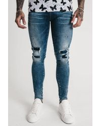 Good For Nothing - Repaired Paint Splatter Jeans - Lyst