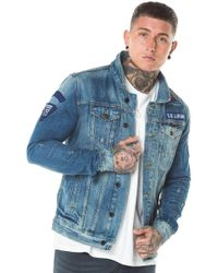 Superdry - Sd Rogue Patch Trucker Jacket - Lyst
