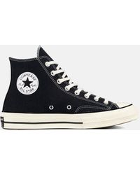 Converse - Black And White 70's Chuck Taylor Trainers - Lyst