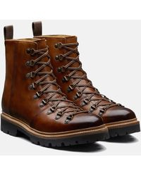 Grenson - Brady Hand Painted Ski Boot - Lyst