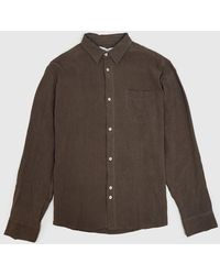 Bellfield - Caspar Linen Shirt - Lyst