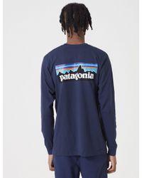 Patagonia - P-6 Logo Responsibili-tee Long Sleeve T-shirt - Lyst