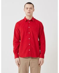 Norse Projects - Osvald Corduroy Shirt - Lyst