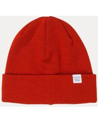 Norse Projects - Top Beanie Hat - Lyst