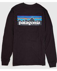 Patagonia - P-6 Logo Responsibili-tee Long Sleeved T-shirt - Lyst
