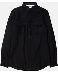 Norse Projects - Villads Melton Overshirt - Lyst