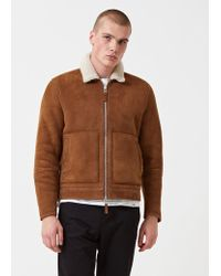 Norse Projects - Elliot Shearling Jacket - Lyst
