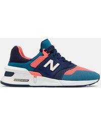 New Balance 997 Sport Sneakers (ms997fhb) - Blue