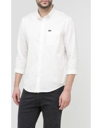 Lee Jeans - Button Down Shirt - Lyst