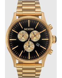 Nixon | Sentry Chrono Watch | Lyst