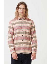Portuguese Flannel - Cahita Stripe Shirt - Lyst