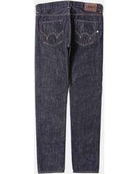 Edwin - Ed-80 Dark Blue Jeans 12oz (slim Tapered) - Lyst