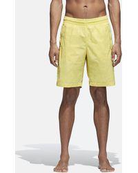 adidas Originals - Adidas 3 Stripes Swim Shorts - Lyst