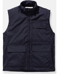 Norse Projects - Birkholm Gilet (shell) - Lyst