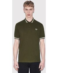 Fred Perry - Single Tipped Polo Shirt - Lyst