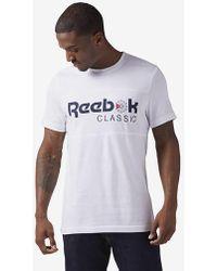 Reebok - Classics Iconic T-shirt - Lyst