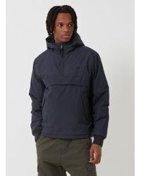 Fred Perry - Half Zip Hooded Brentham Jacket - Lyst