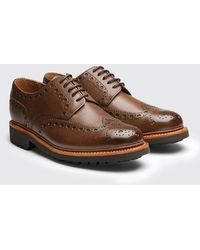 GRENSON | Archie Commando Sole Brogue Shoes | Lyst