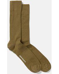 Norse Projects - Bjarki Mercerized Rib Socks - Lyst
