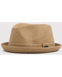 eb637d60441a94 Altea Straw Trilby Hat in Natural for Men - Lyst