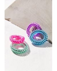 Urban Outfitters   Telephone Cord Hair Tie Set   Lyst