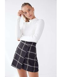 Urban Outfitters - Uo Pep Squad Wrap Skirt - Lyst
