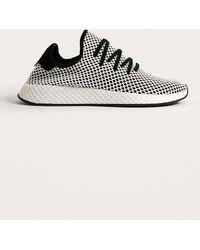 Adidas Originals deerupt Runner zapatillas en negro y gris en negro