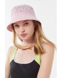a012de939ddc9 Urban Outfitters - Uo Ella Woven Bucket Hat - Lyst