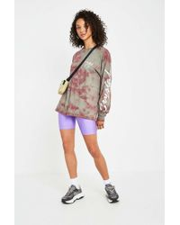 Urban Outfitters - Uo Lilac Disco Cycling Shorts - Womens Xs - Lyst