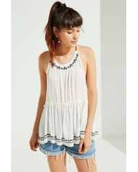 Urban Outfitters - Uo Dream Catcher Tiered Tank Top - Lyst