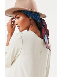 Urban Outfitters - Extra-large Silky Square Scarf - Lyst