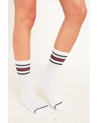 Urban Outfitters - Uo Striped Athletic Crew Socks - Lyst