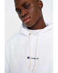 Champion - X Uo White Reverse Weave Hoodie - Mens Xl - Lyst
