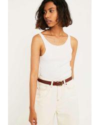 Urban Outfitters - Boyfriend Leather Belt - Lyst