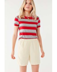 Urban Outfitters - Uo Paxton Long-line Short - Lyst