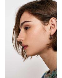 Urban Outers Mini Fan Hoop Earrings Womens All Lyst
