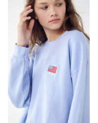 Urban Outfitters - 1995 American Flag Pullover Sweatshirt - Lyst
