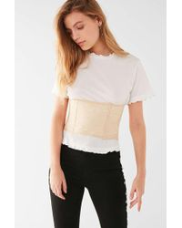Urban Outfitters - Maya Lace Corset Belt - Lyst