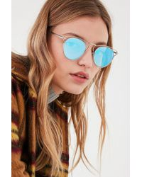 Urban Outfitters | Cut It Out Half-frame Sunglasses | Lyst