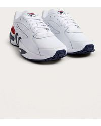 Fila - White Mindblower Trainers - Mens Uk 10 - Lyst