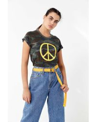 Truly Madly Deeply - Camo Peace Tee - Lyst