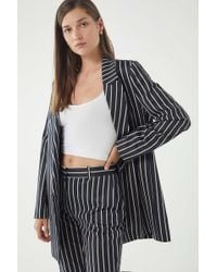 Just Female - Laurent Pinstripe Blazer - Lyst