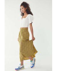 Urban Renewal - Vintage Overdyed Floral Skirt - Lyst