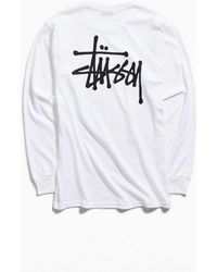 919e3fb1d31613 Lyst - Stussy Old Stock Longsleeve Tee Black in Black for Men