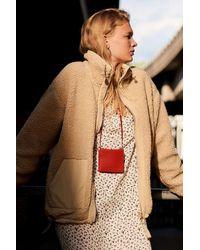 Urban Outfitters Uo Wallace Oversized Fleece Jacket - Multicolour