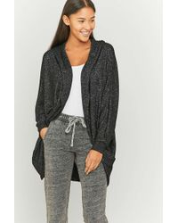 Sparkle & Fade - Cosy Hoodie Cardigan - Womens S - Lyst