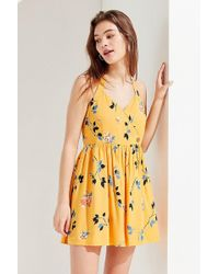 Urban Outfitters - Uo Pippa Halter Mini Dress - Lyst