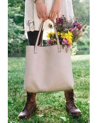 Urban Outfitters - Reversible Vegan Leather Tote Bag - Lyst