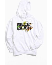 f5706292b Urban Outfitters - Billie Eilish Uo Exclusive Logo Hoodie Sweatshirt - Lyst